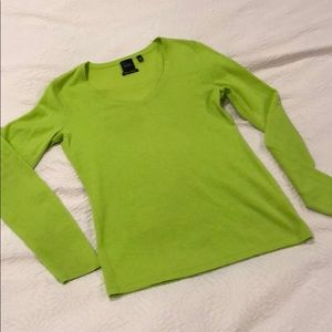 Cashmere Lime Long Sleeve